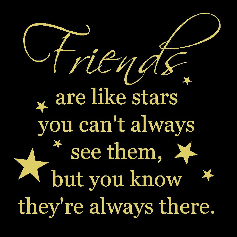 Quotes On Friendship Friendship Quote Stars True Friends Are Like Starsthe Creative