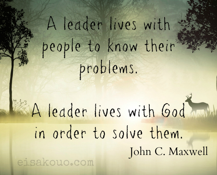 John Maxwell Quote On Leadership Eisakouo Classy John Maxwell Quotes