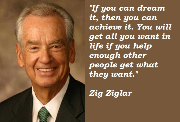 Inspirational Zig Ziglar Quotes