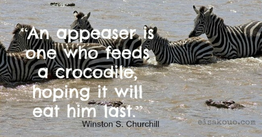 An appeaser is