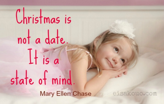 Christmas state of mind