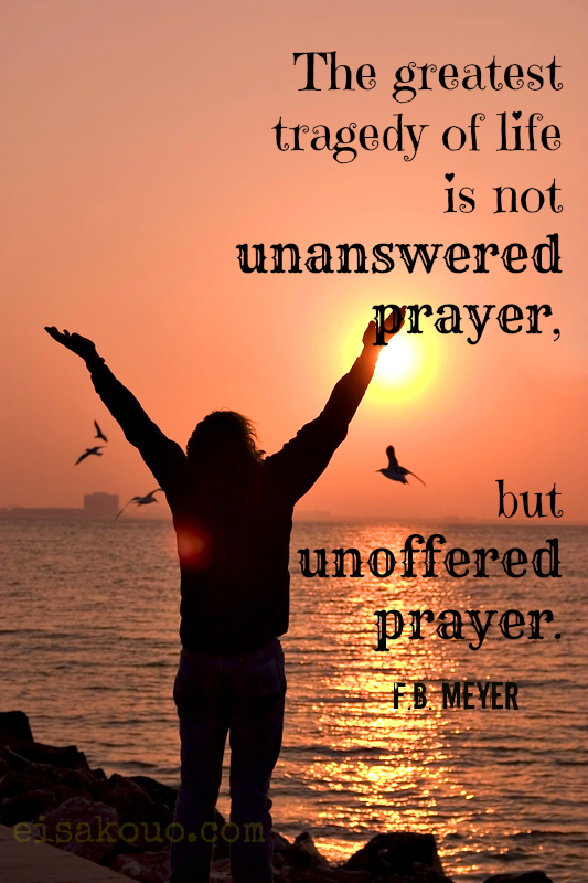 Prayer Quote Magnificent G Campbell Morgan Quote  Eisakouo