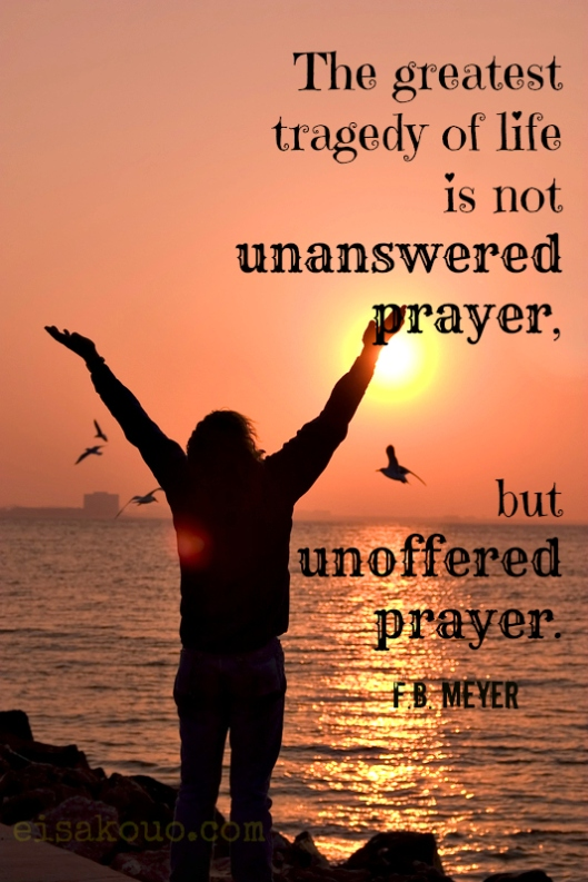 Unoffered prayer
