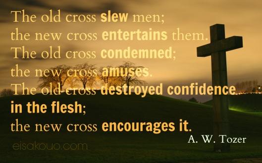 old cross - new cross