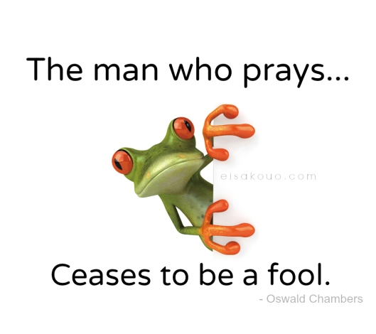 Ceases to pray