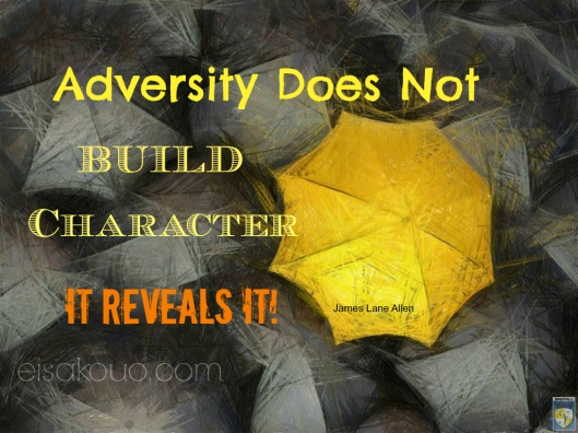 Adversity and Character