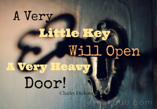 Little Key Heavy Door