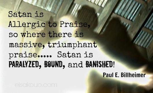 Satan Is Banished