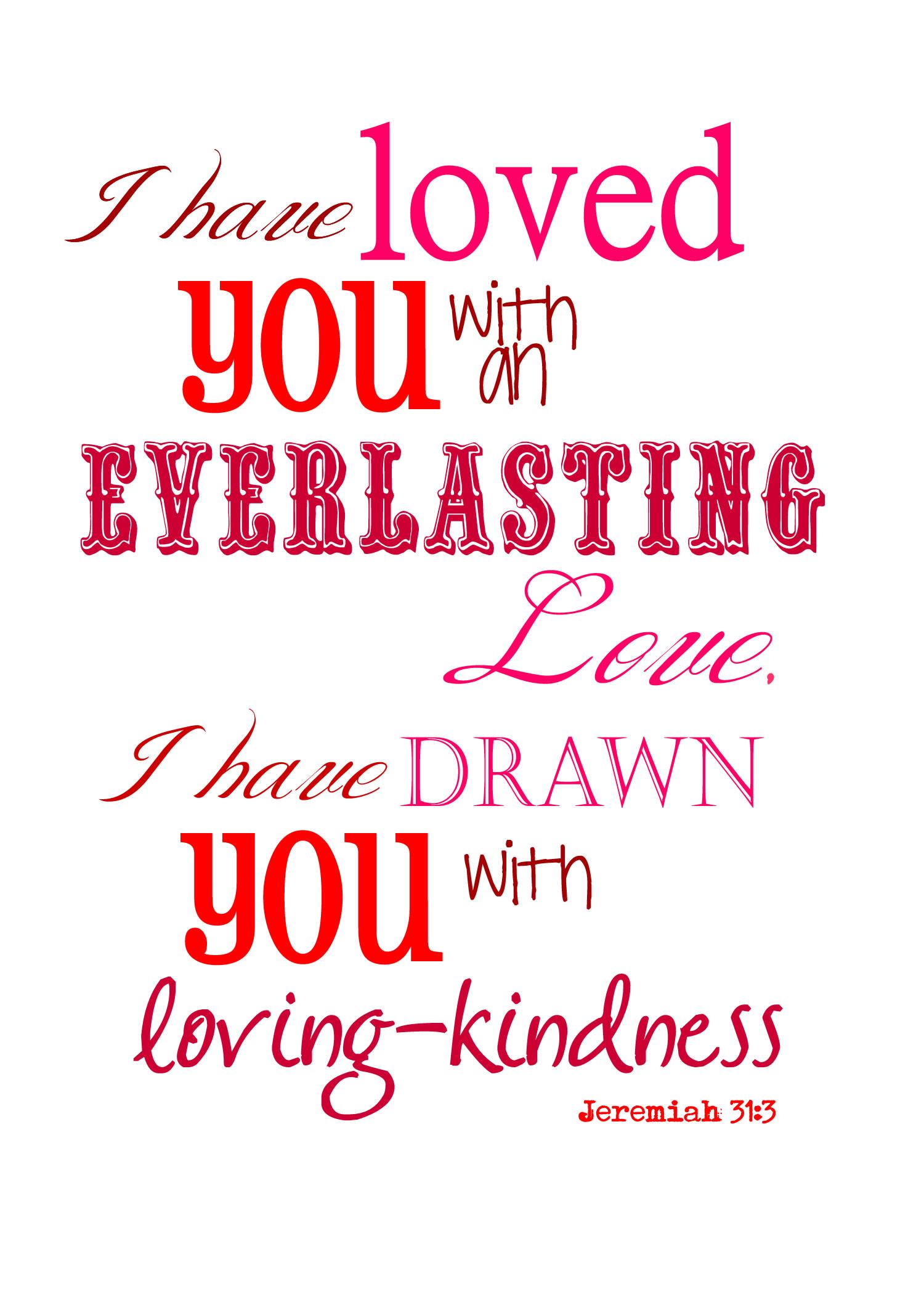 Valentine I Have Loved You