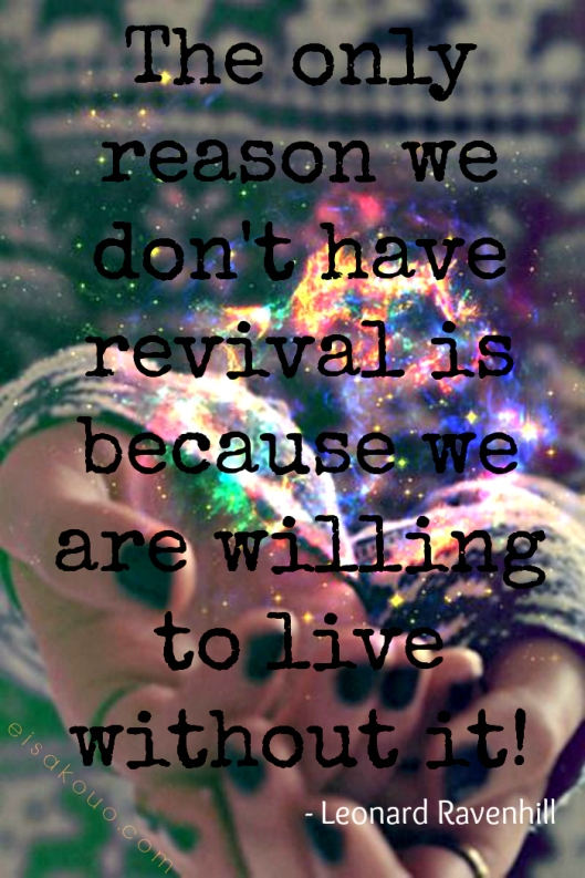 living without revival