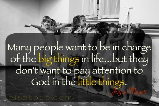 Big Things Little Things